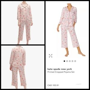NWT! Kate Spade Dream a Little Dream Pajama Set